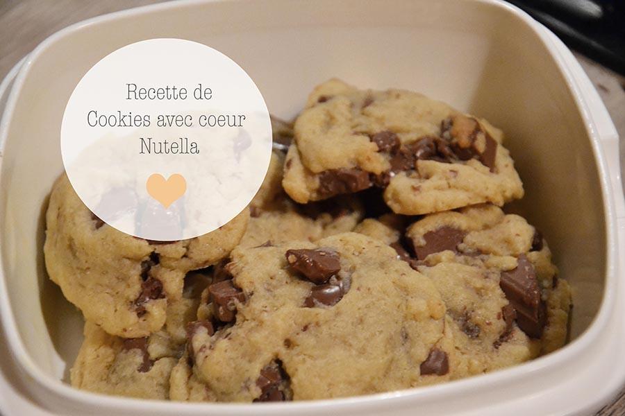 cookies coeur fondant nutella. Black Bedroom Furniture Sets. Home Design Ideas