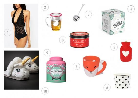 Saint-Valentin : Idées cadeaux à moins de 30 €