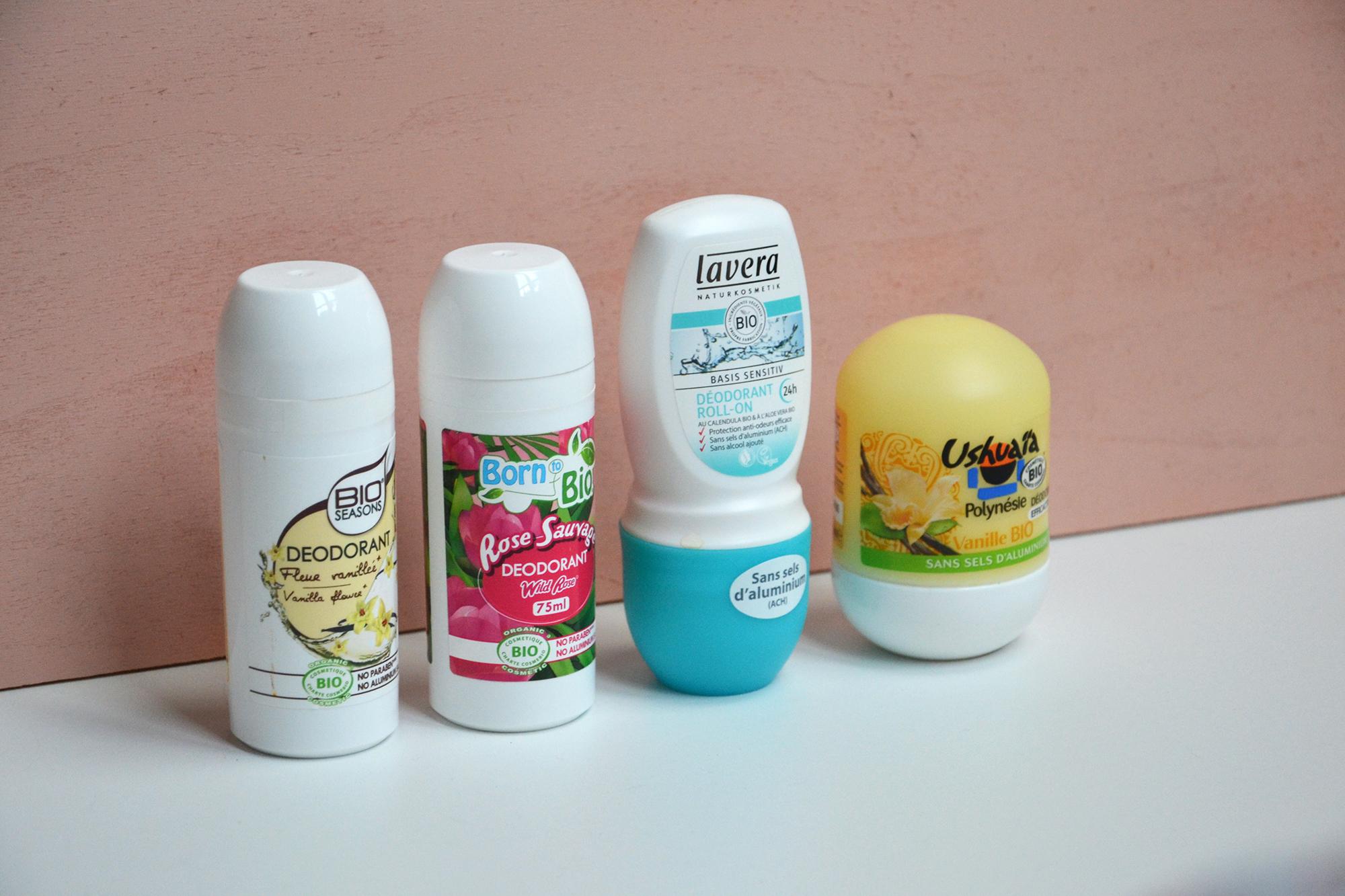 Deodorant bio à éviter
