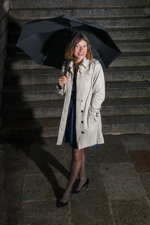 Un soir de pluie à Paris