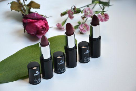Rouges à lèvres Bio Avril