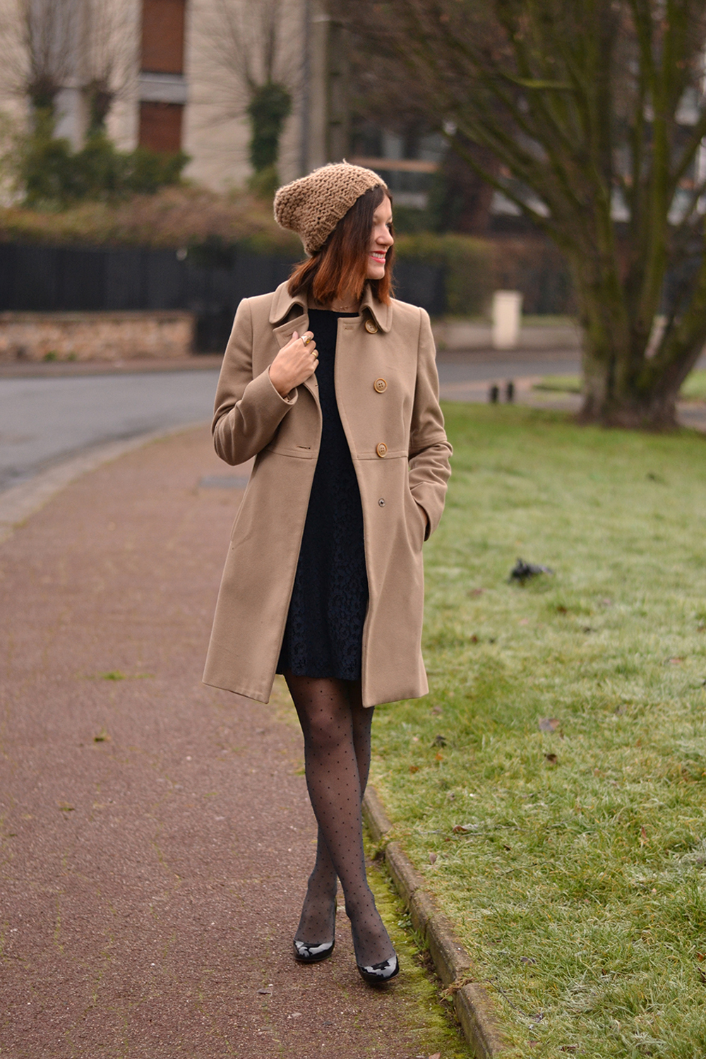 Inspiration mode : look manteau camel