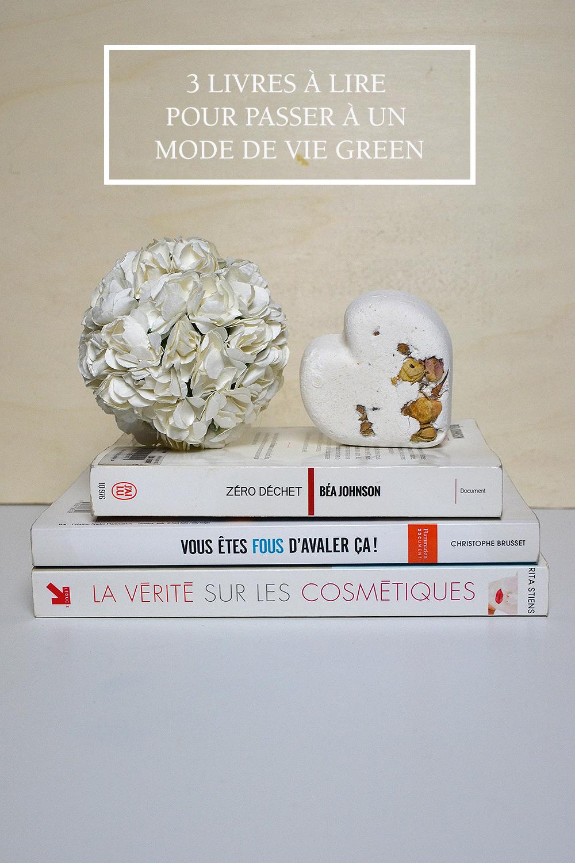 Livres pour avoir un mode de vie green