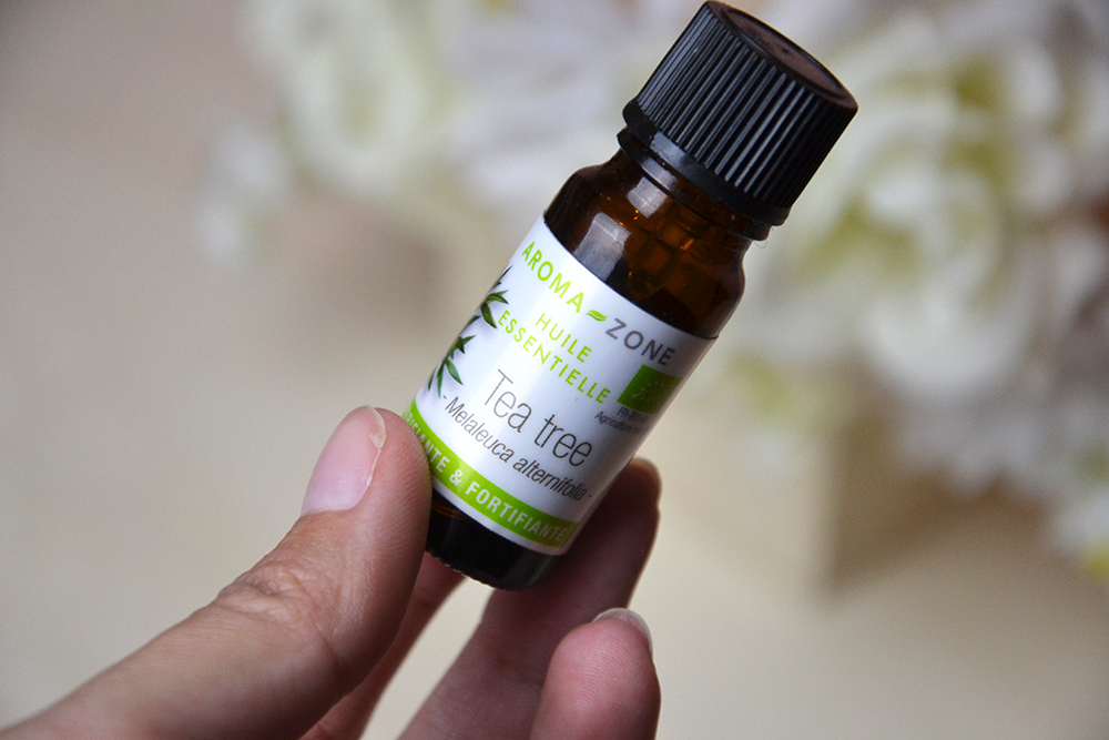 Lutter contre les boutons : l'huile essentielle de tea tree