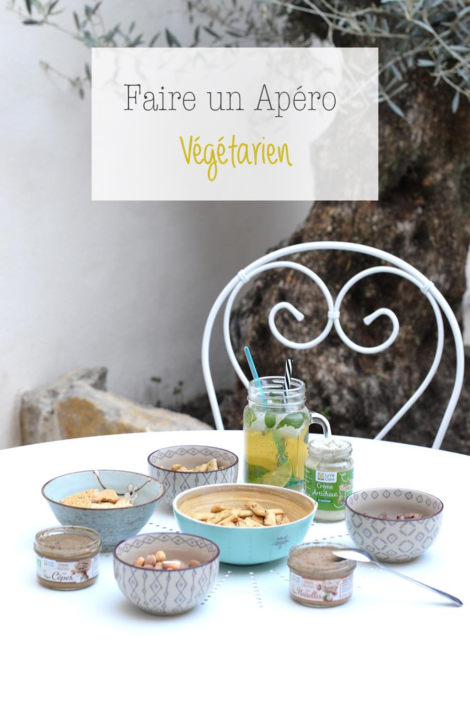 Apéro végétarien avec La vie Claire et Angèle
