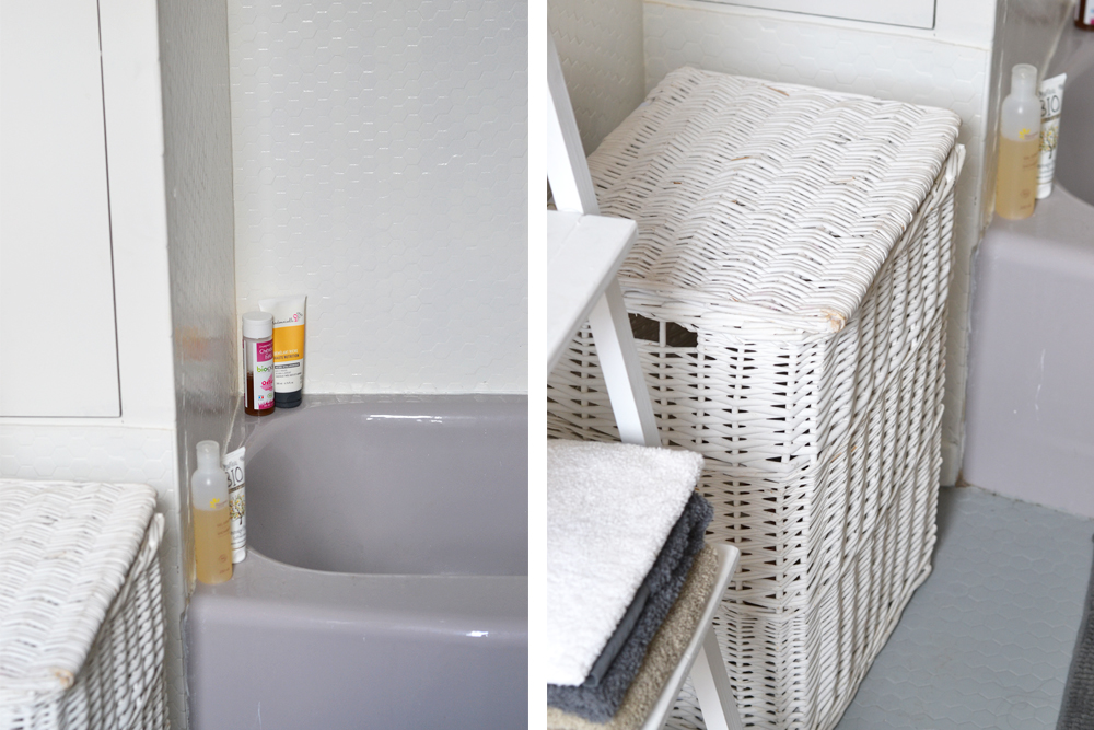 Avant / Après - Transformation de la salle de bain