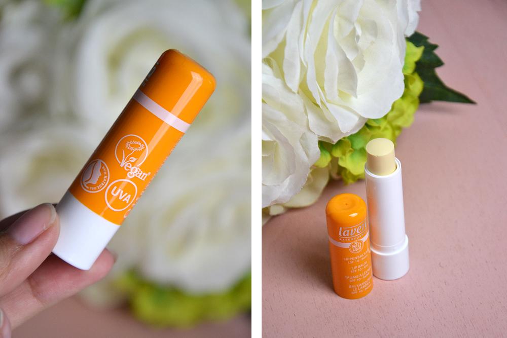 4 indispensables naturels pour l'été : le baume à lèvres Lavera