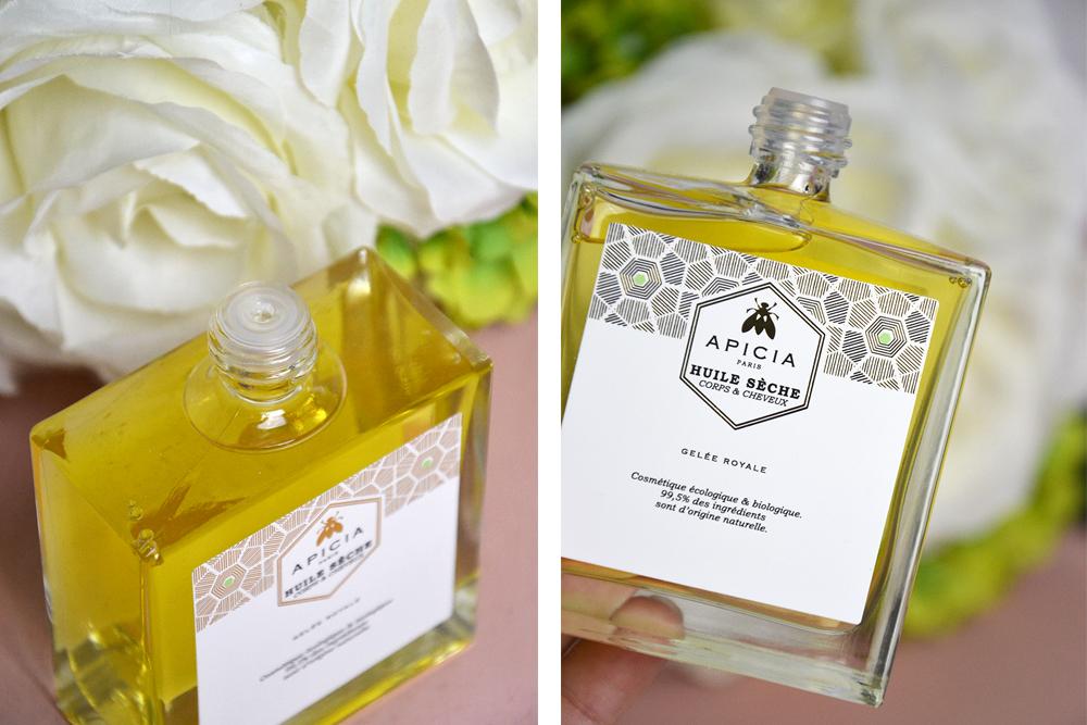 4 indispensables naturels pour l'été : l'huile sèche Apicia