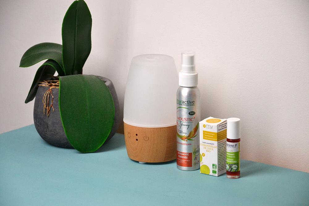 Remèdes anti-moustiques naturels - mes 3 indispensables