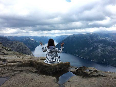 Road trip en Norvège - Randonnée de Preikestolen