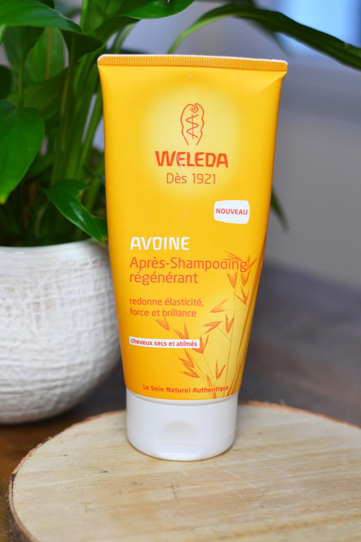 Favoris 2017 : après-shampoing Weleda