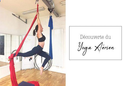 Mon avis sur le yoga aérien chez Fly Yoga