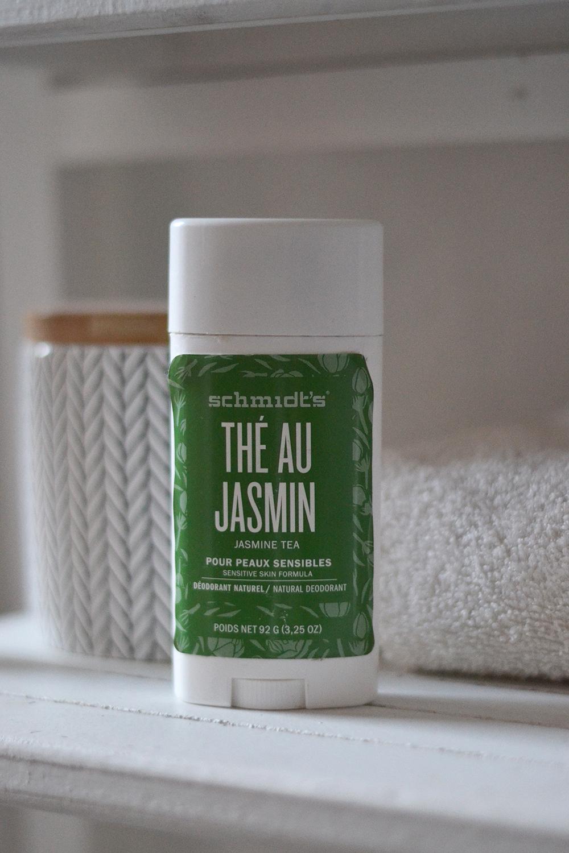 Le déodorant Schmidt's - Thé au jasmin