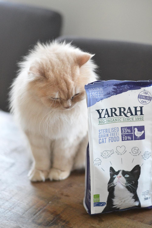 Croquettes Bio pour Chat - Yarrah