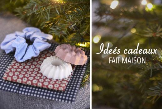 Idées cadeaux fait-maison pour Noël