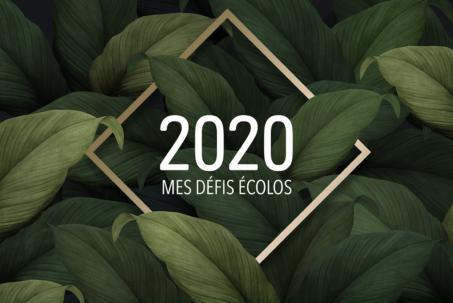 Mes défis écolos pour 2020