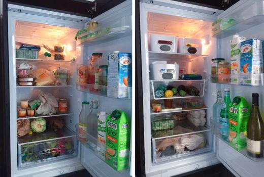 Avant / Après : j'organise mon frigo !
