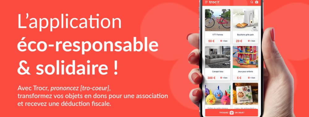 Trocr - Application eco-responsable